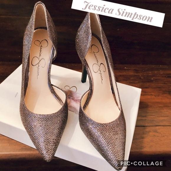 jessica simpson sparkle shoes